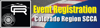 SCCA - Colorado Region : click to return home